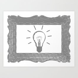 New Idea Art Print