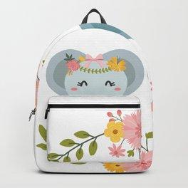 Elephants couple - Just love me Backpack