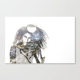 double exposure PV - C Canvas Print