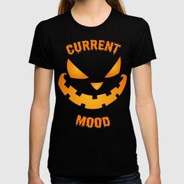 Current Mood Halloween Pumpkin Jack-O-Lantern T-shirt