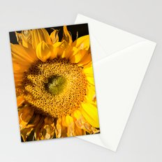 sunkissed sunflower Stationery Cards