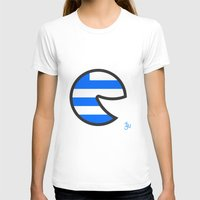 greece T-shirts featuring Greece Smile by onejyoo