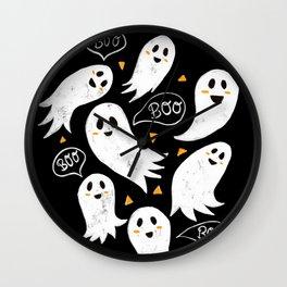 Friendly Ghosts Wall Clock