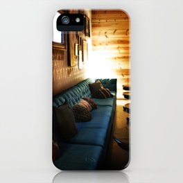 Tillmans Turquoise Couch iPhone Case