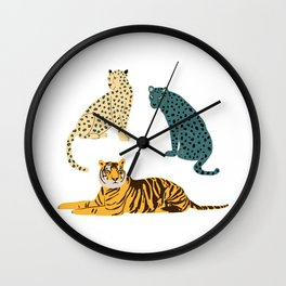 Predators Wall Clock