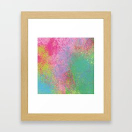 Crayon Corner Framed Art Print