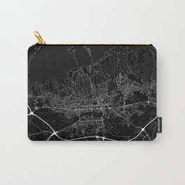 Minimal City Maps - Map of Zagreb Carry-All Pouch