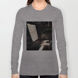 Music. The piano lesson. Long Sleeve T-shirt