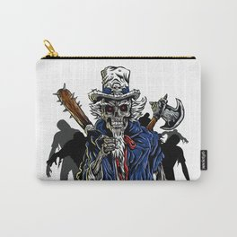 Zombie Uncle Sam  Carry-All Pouch