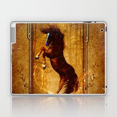 Awesome wild horse Laptop & iPad Skin