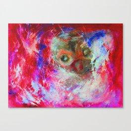 Abstract Owl   #society6 #decor #buyart Canvas Print