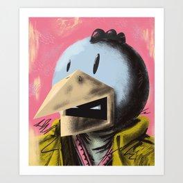 Chicka Mao Art Print