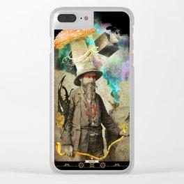 Odd Explorer Clear iPhone Case