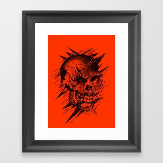 Skull's Not Dead Framed Art Print