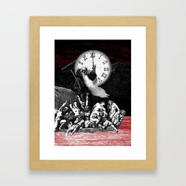Two Minutes To Midnight Framed Art Print