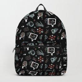 Academic Medicine on Black Backpack