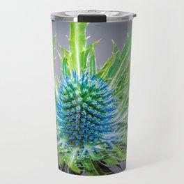 Blue Eryngium Travel Mug