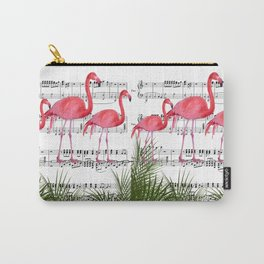 Flamingo dance Carry-All Pouch