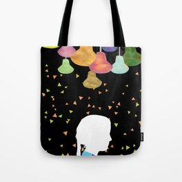 turn on the bright lights Tote Bag
