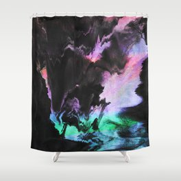 Effort to breathe Shower Curtain
