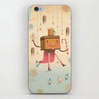 king iPhone & iPod Skins featuring KIng by Cristian Turdera