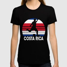 Costa Rica Soccer Football CRI T-shirt