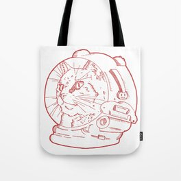 Space Kitty Cat. Tote Bag