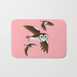 Owls On The Prowl Bath Mat