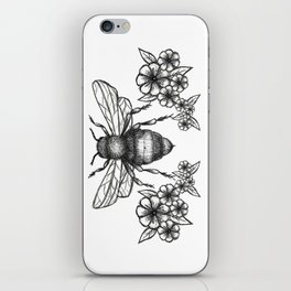 give me some sugar, little honey bee iPhone Skin