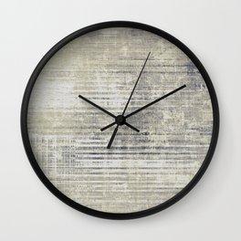 Vintage Grey Wall Clock