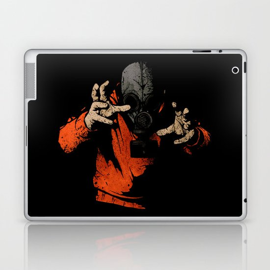 Black Light Laptop & iPad Skin