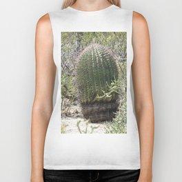 Cactus in Saguaro National Park in Tucson Arizona Biker Tank