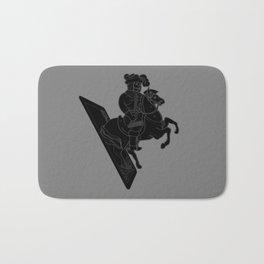 LAST CARD IN THE DECK BLACK Bath Mat