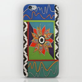 The Power of a Flower iPhone Skin