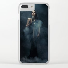 Singer Clear iPhone Case