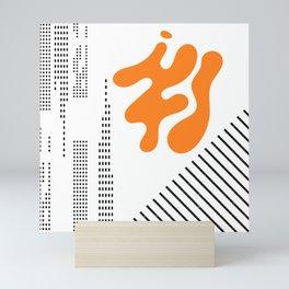 Mid-Century Modern Art Future Mini Art Print