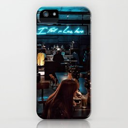 I fell in love here iPhone Case