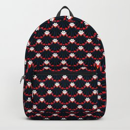 vampire repeat pattern Backpack