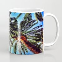 oasis Mugs featuring Oasis by efbii