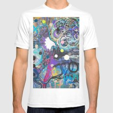 Flying Eagle SMALL White Mens Fitted Tee