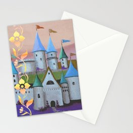Enchanted Castle after Sunset Stationery Cards