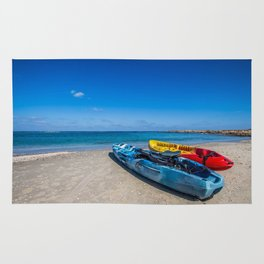 Seascape Boats Rug