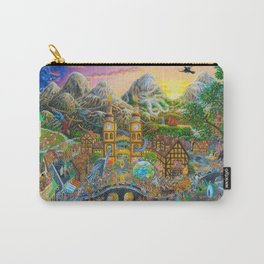 Magical Mystery Tour Color Edit Carry-All Pouch
