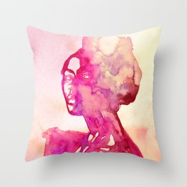 Africana Throw Pillow