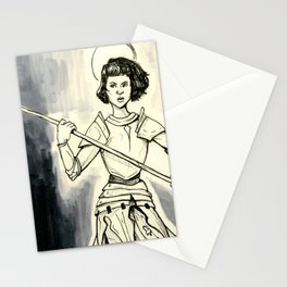 Jeanne D'Arc Stationery Cards