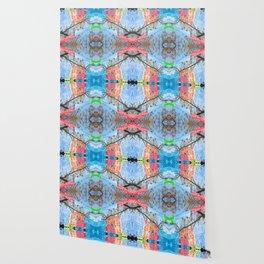 """Papel Picado Kaleidoscope"" by Murray Bolesta Wallpaper"