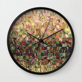 Sea Foam Serenade Wall Clock