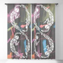 Number 8 Sheer Curtain