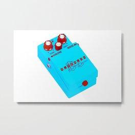 Alrealon/Boss FX Pedal (Blue Version) Metal Print