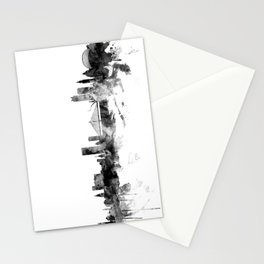 Liege Belgium Skyline Stationery Cards